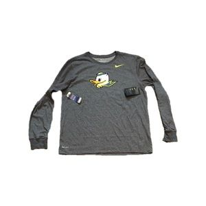 Oregon Ducks Nike Long Sleeve Men's Shirt Large